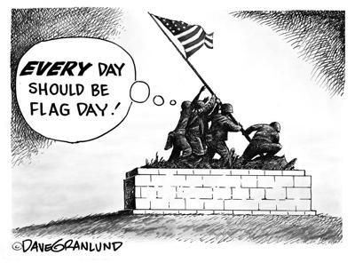 edit toon Flag Day every day