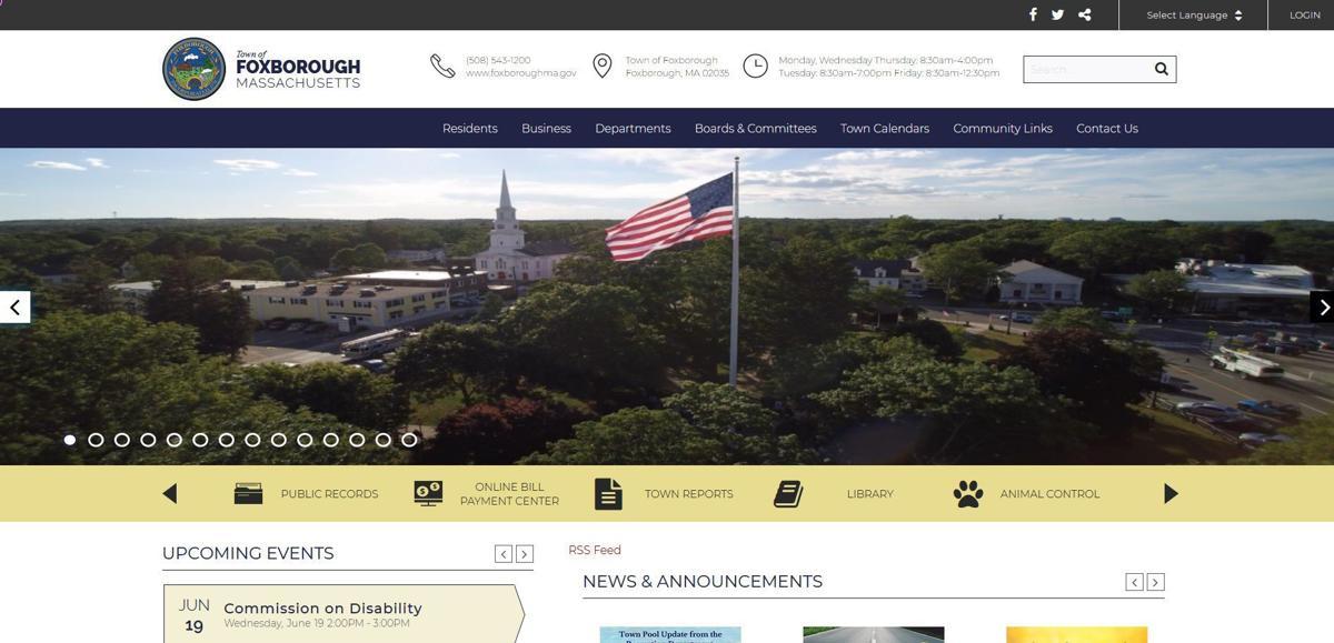 foxboro website