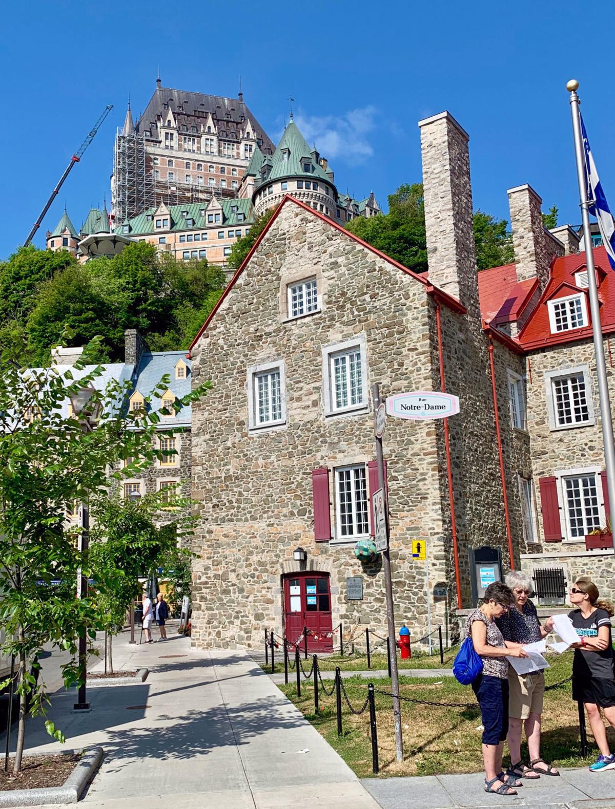 Château Frontenac from the Lower Town_Quebec City