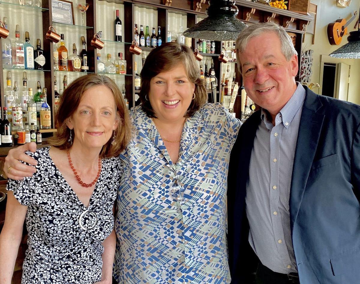 Mary, Joanie, Bruce