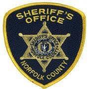 norfolk county sheriff's badge