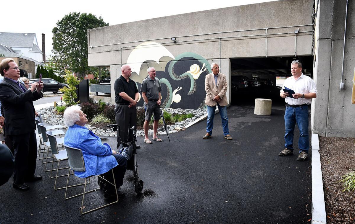 Tom Cuddy Courtyard Dedication