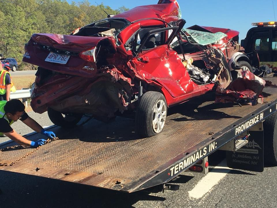 Three seriously hurt in one of three Attleboro highway