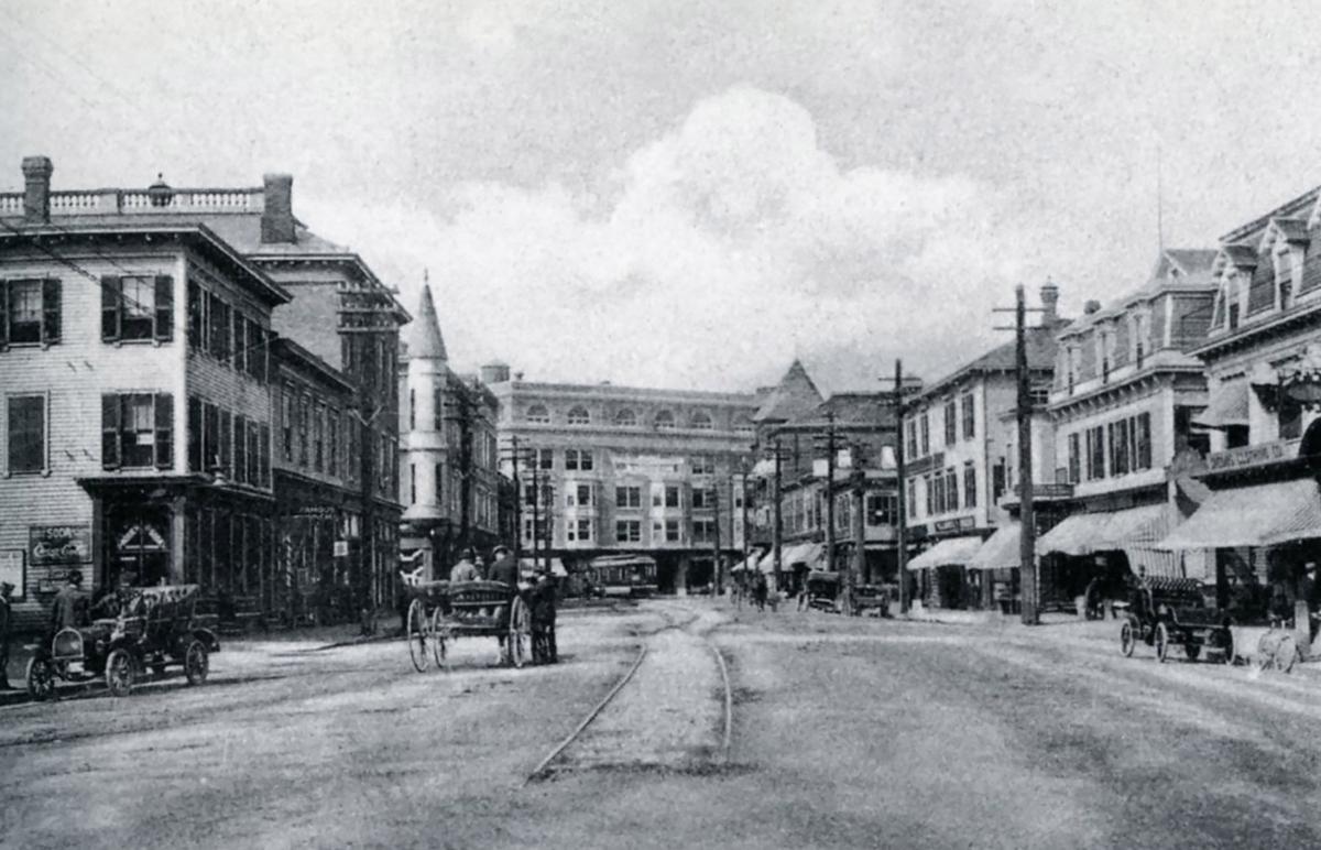 Attleboro, Massachusetts - Downtown on Park Street