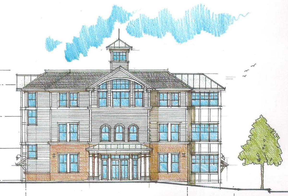 exterior front foxboro fire station proposal
