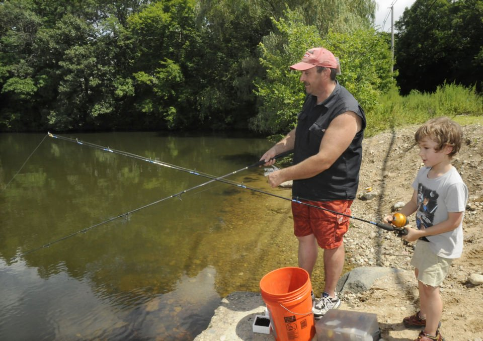 Take five local fishing spots stories for Local fishing ponds