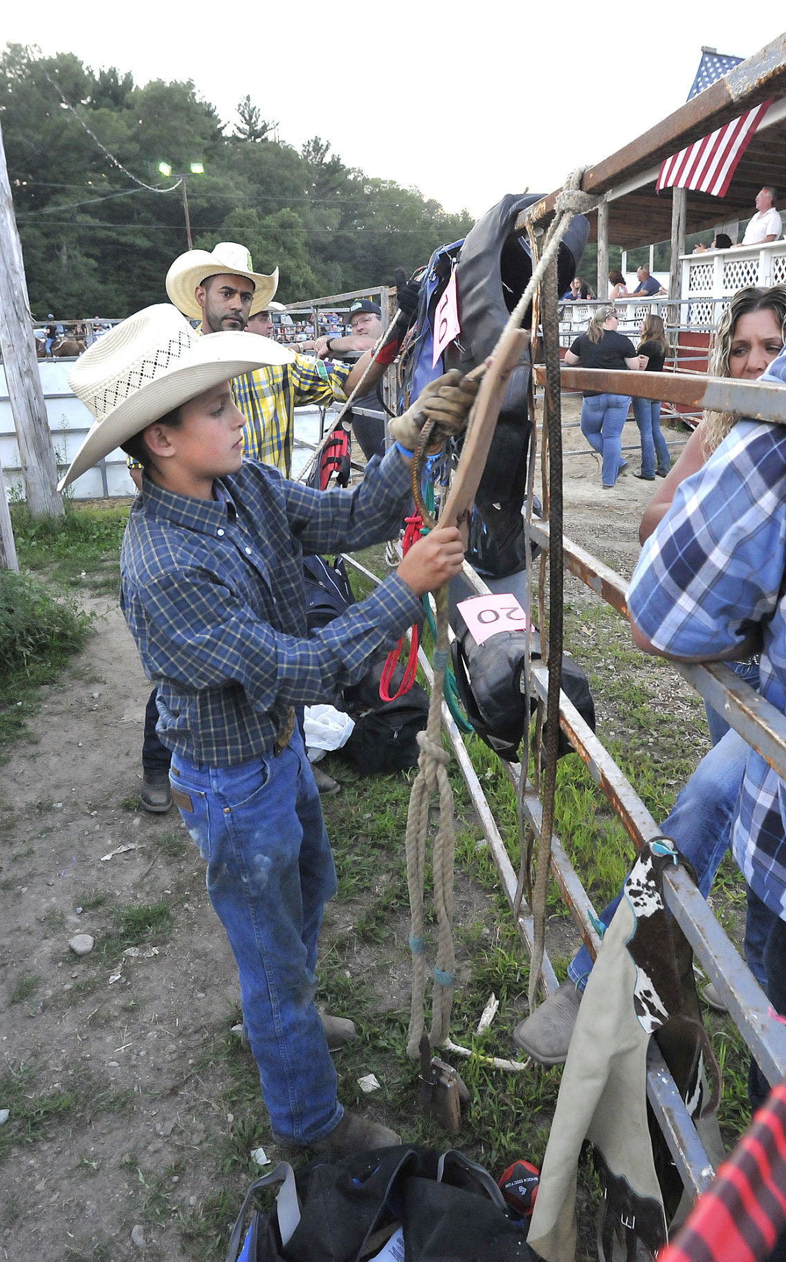 New England Rodeo In Norton Draws Protesters But Also