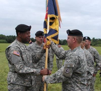 Area's National Guard unit has new commander