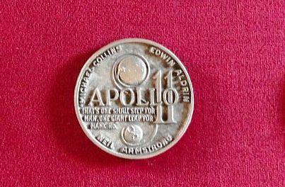 Balfour Space Medals Apollo11