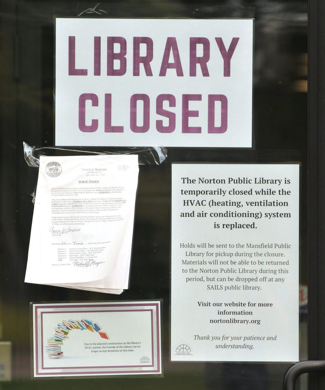 Norton Library Closed