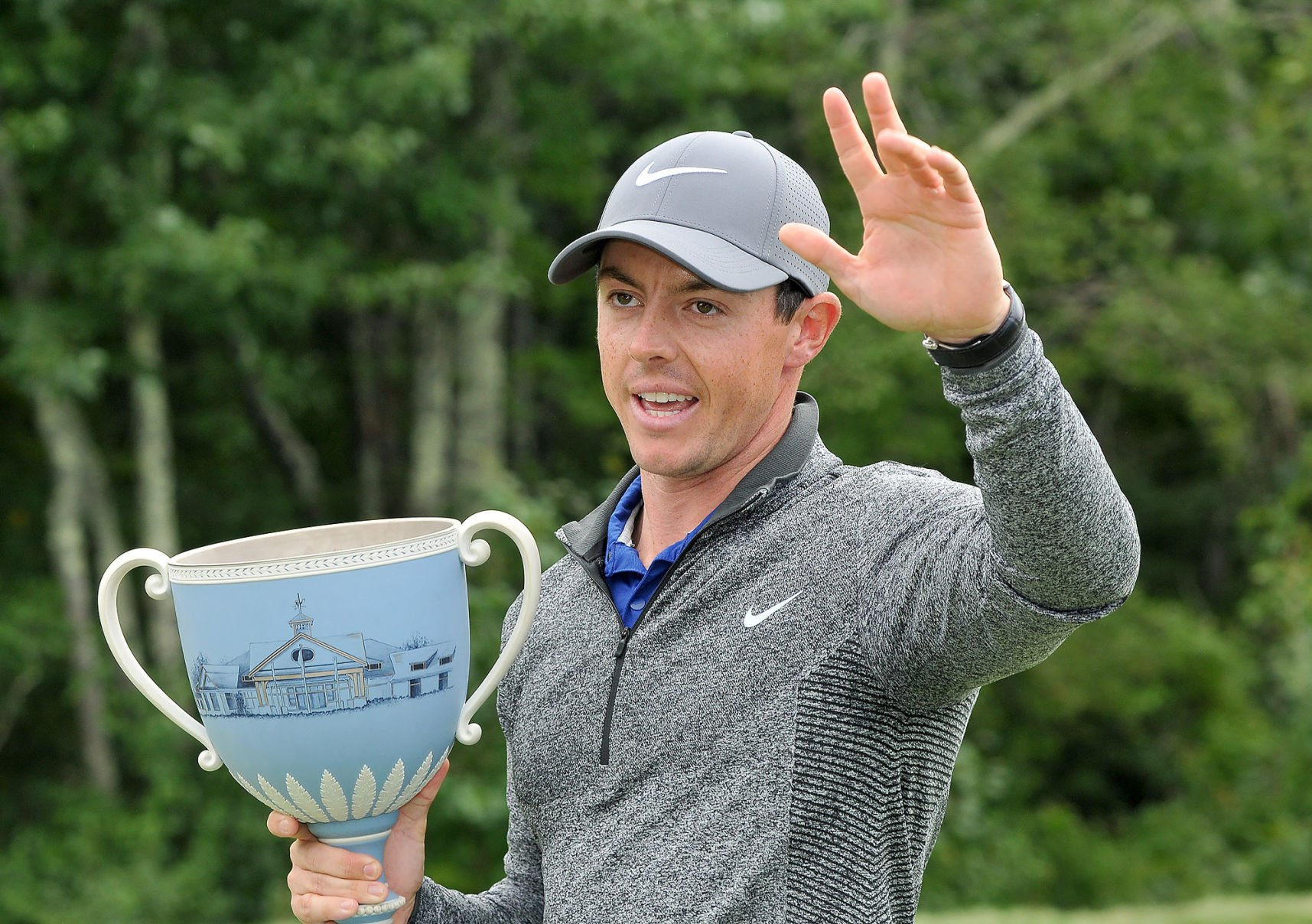 Rory McIlroy feels right at home at TPC Boston