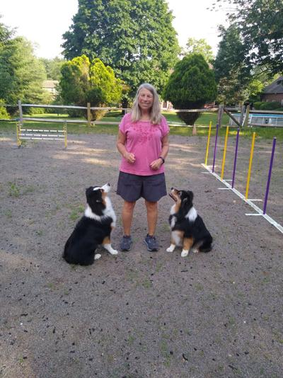 Diane Marshall and dogs