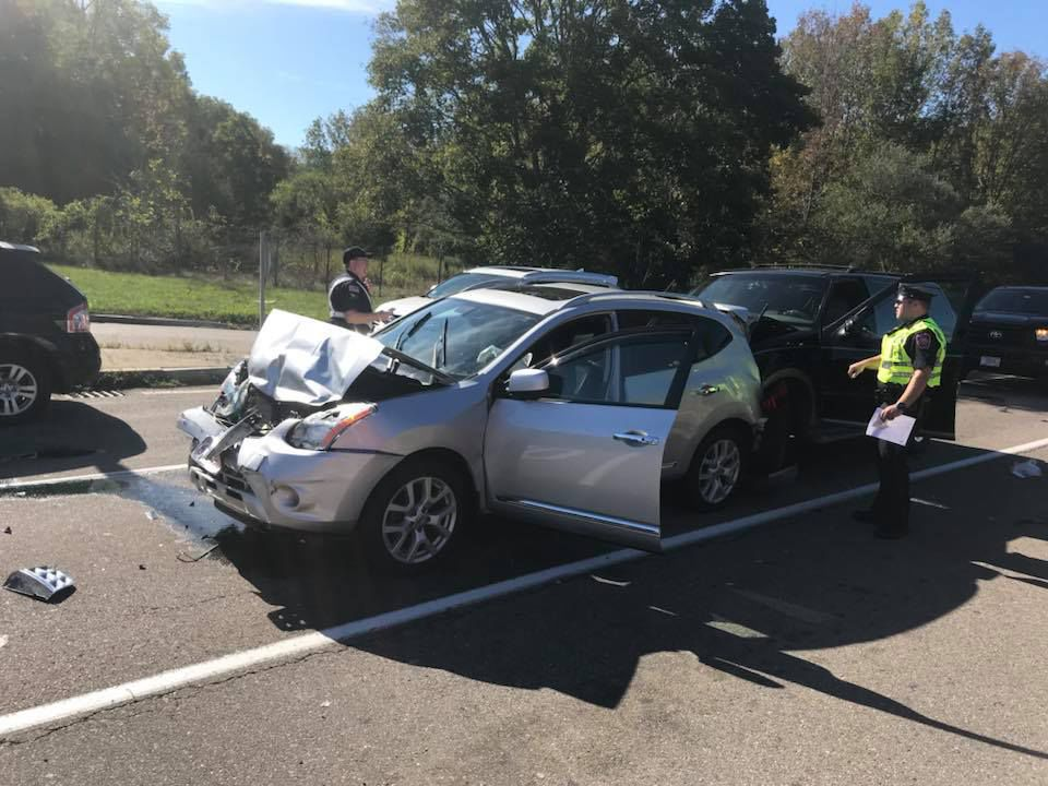 minor car accident. mansfield mva-140 minor car accident