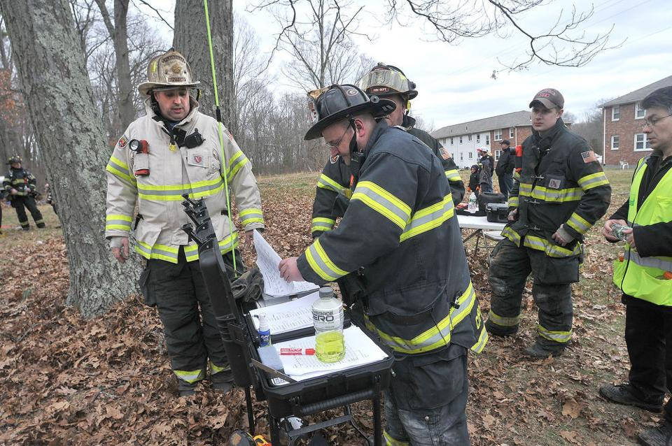 Fire Training Day The Sun Chronicle Foxboro