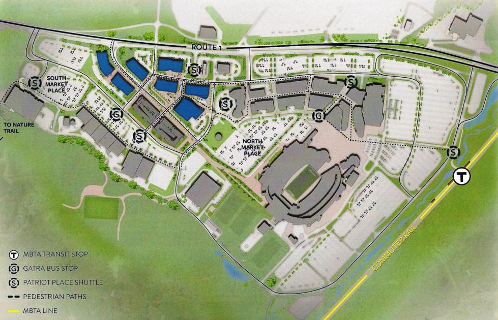 Kraft Group proposes some changes for office park plans ...