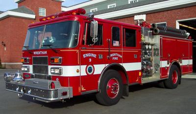 Wrentham fire truck