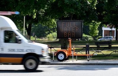 Foxboro Water Ban Sign
