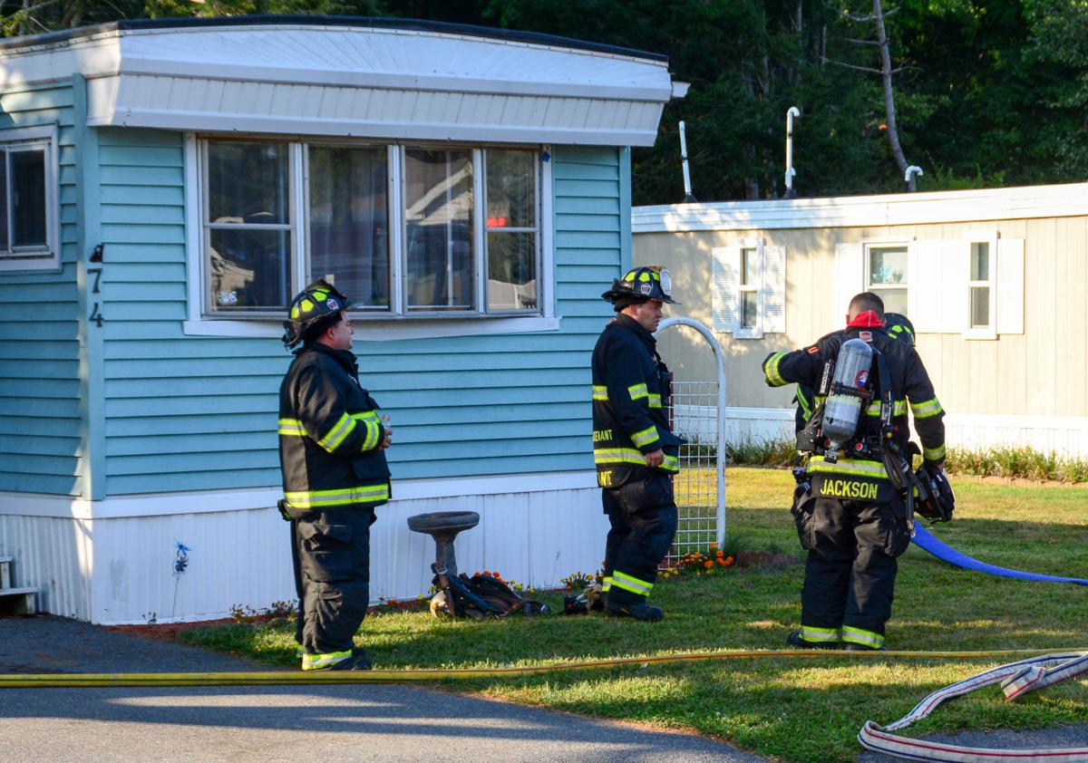 Attleboro Mobile Home Park Fire Displaces One