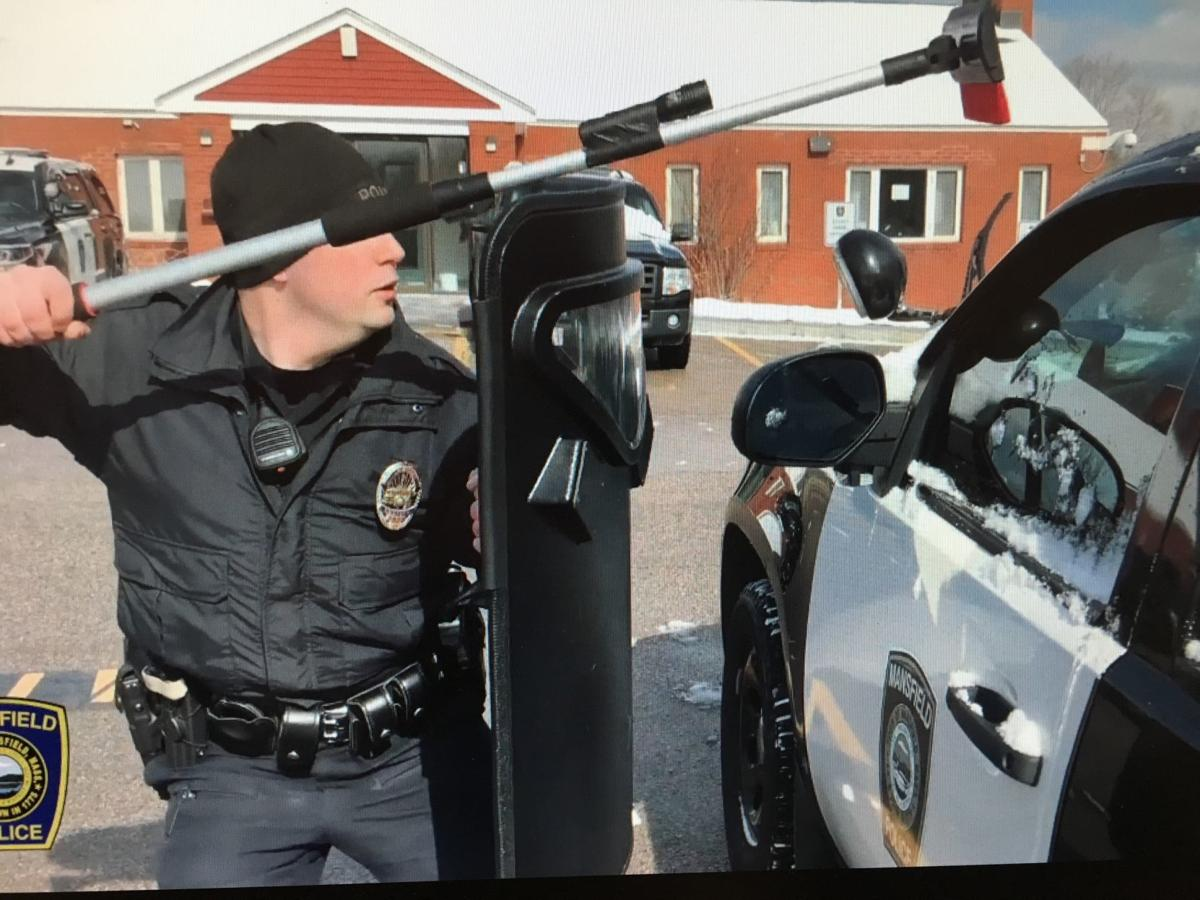 Mansfield police post 'infomercial' about removing snow from