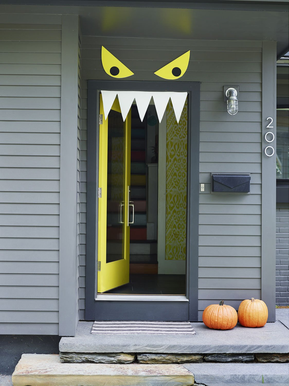 Welcome Halloween With Fun Diy Front Door Decorations Stories