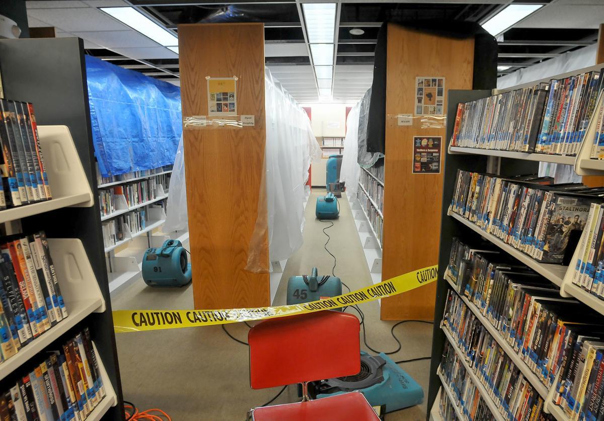 Seekonk Library Damage