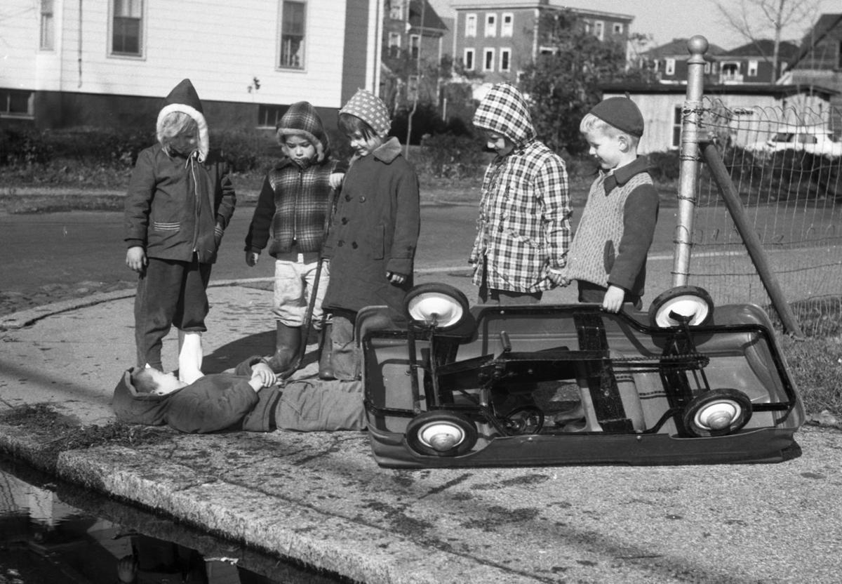 Kids Playing 1959