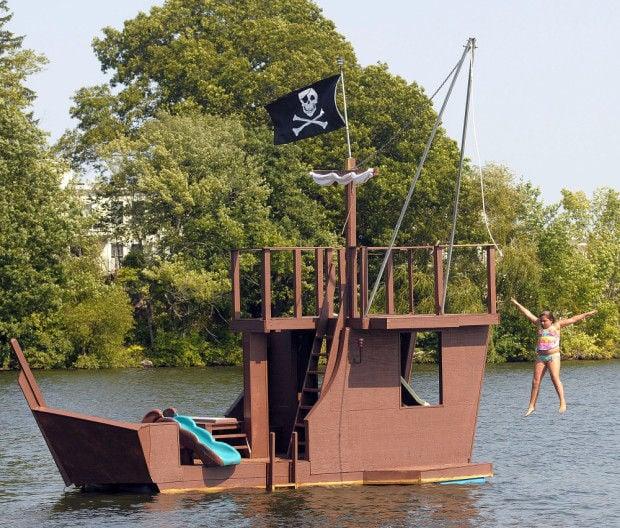 Steve Bankert pirate ship