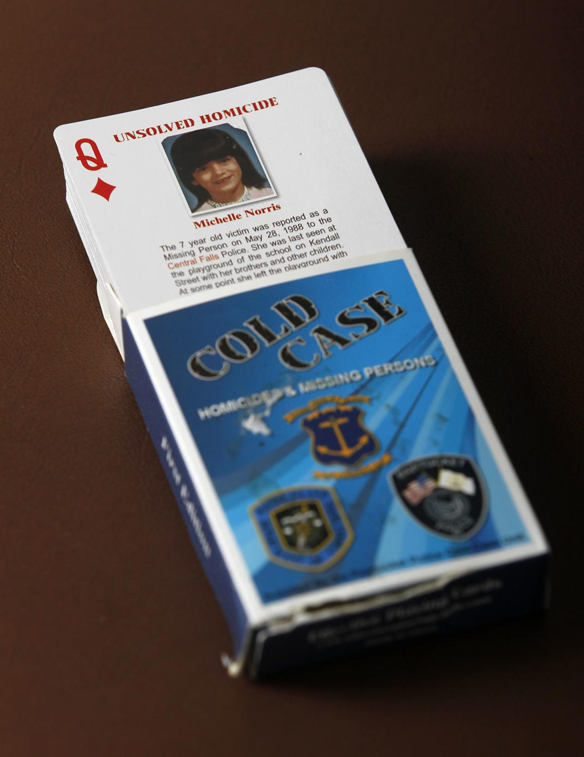 RI turns to playing cards to help solve cold cases, including