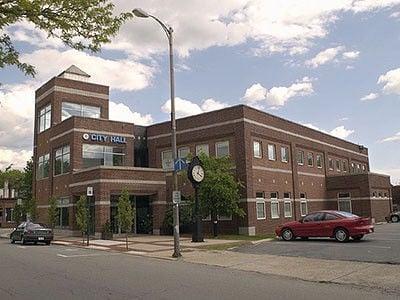 Attleboro City Hall building file photo