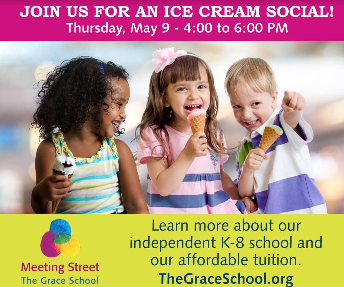 The Grace School Hosts Ice Cream Social