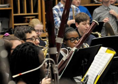 Foxboro HS Band Practice