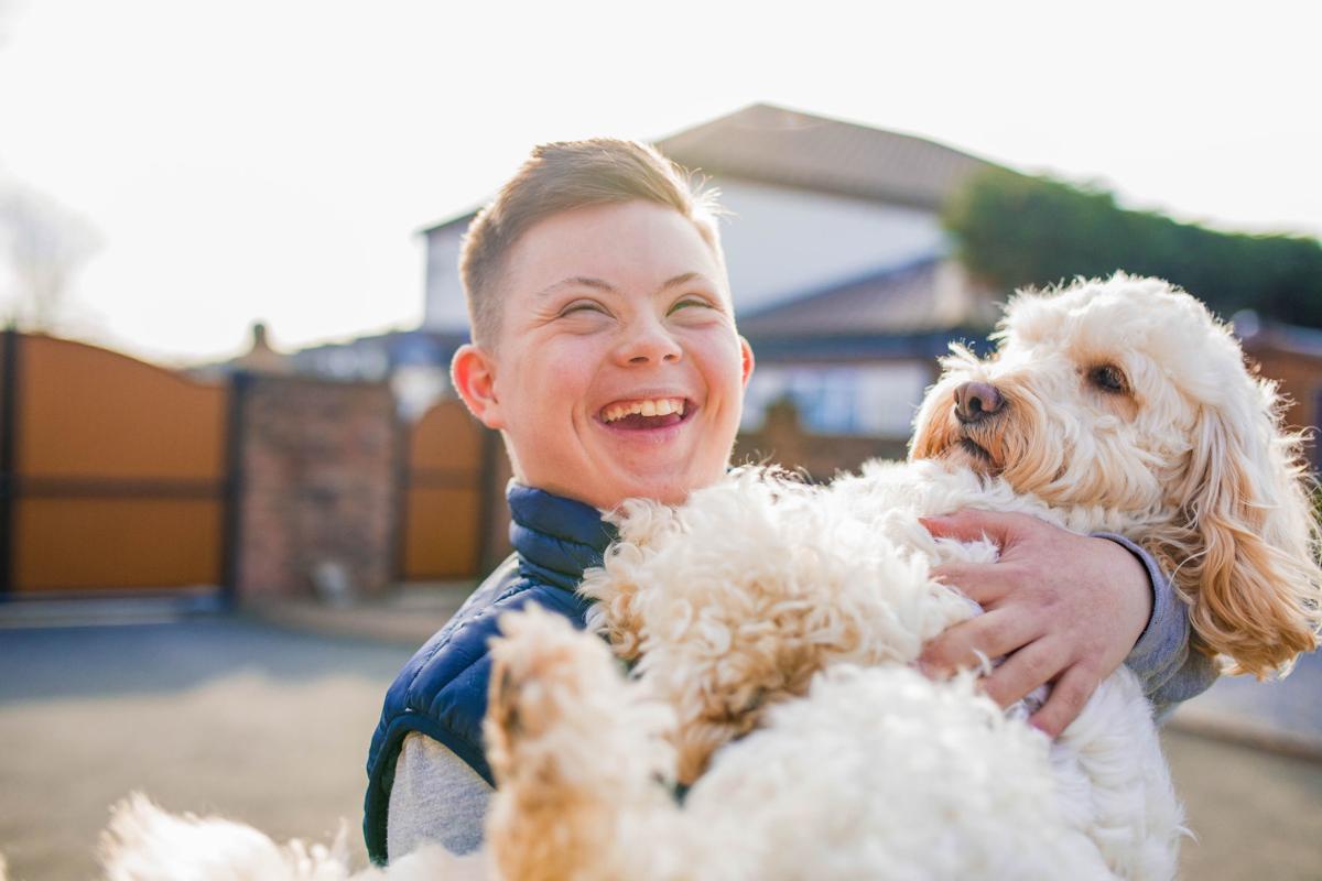 dog and child 2