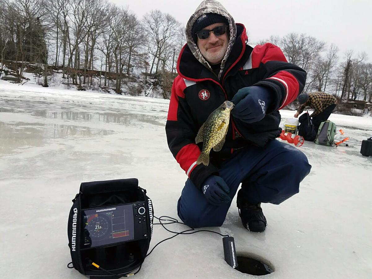 No fluke ice fishing the best in years local sports for Ice fishing show