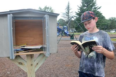 Little Free Library Lee's Pond