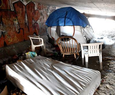 Homeless Corona