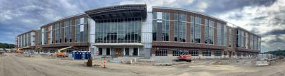 The new Attleboro High School