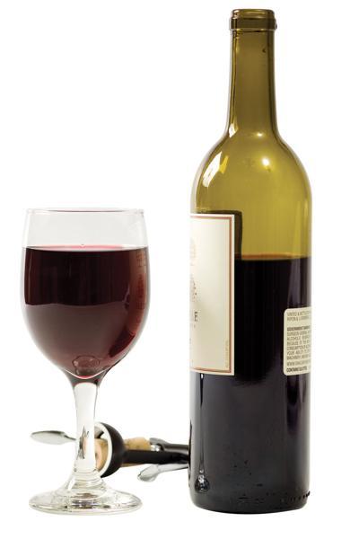 wine glass bottle clip