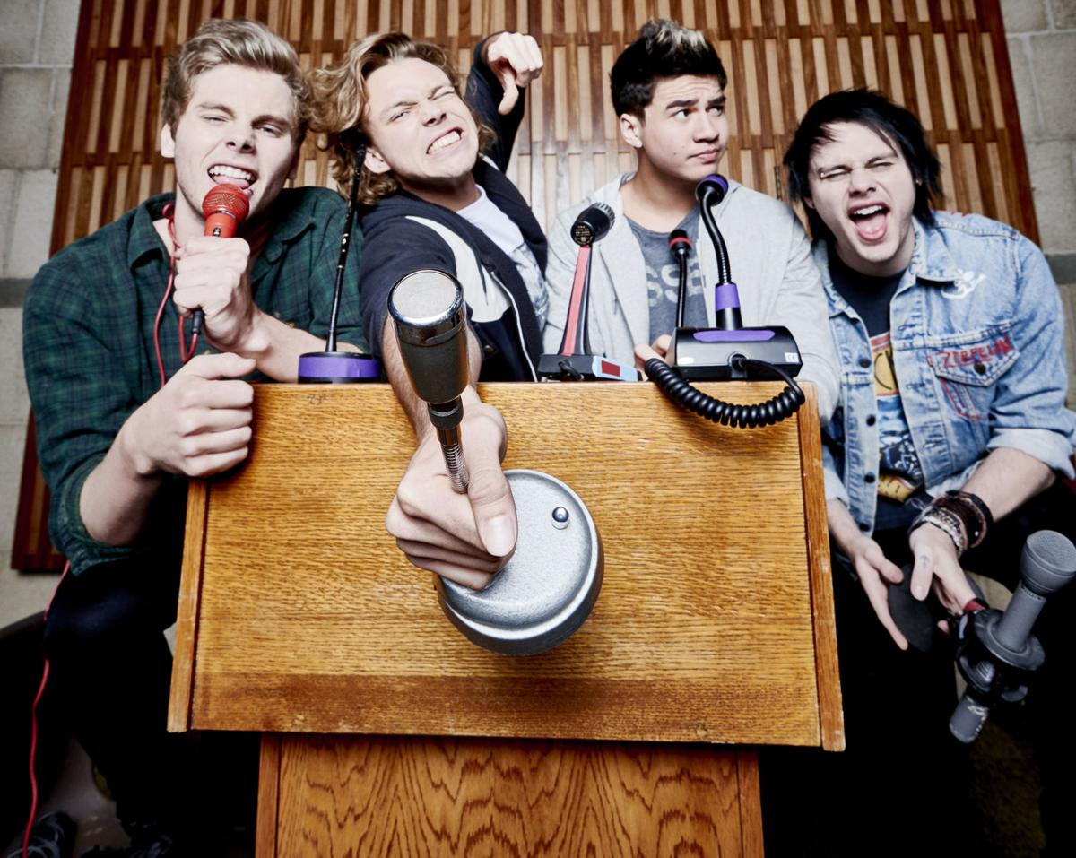 5 Seconds Of Summer Coming To Mansfield Next Summer Features