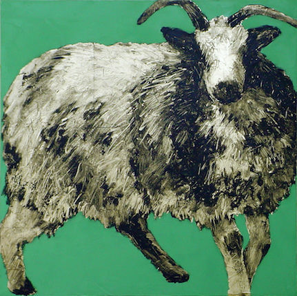 'Golden Fleece #40' by Carolyn Letvin