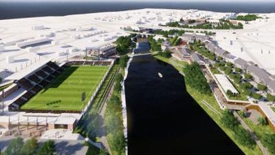 Pawtucket soccer stadium