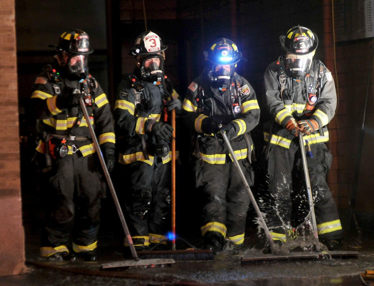 Mansfield FD Fire