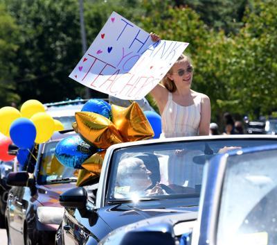 Ahern 8th Grade Grad Parade