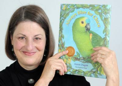 Parrot is star of NA author's book