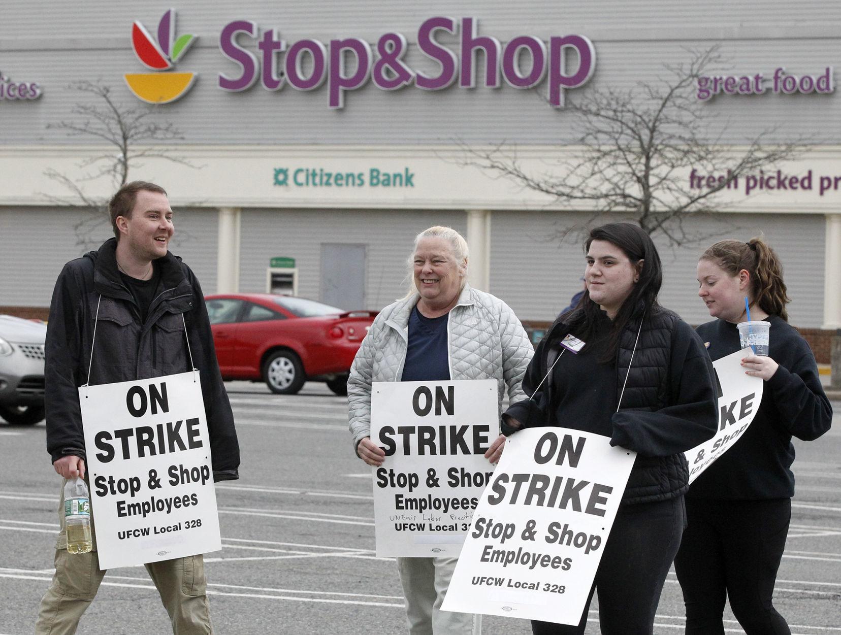 Stop and shop strike market basket