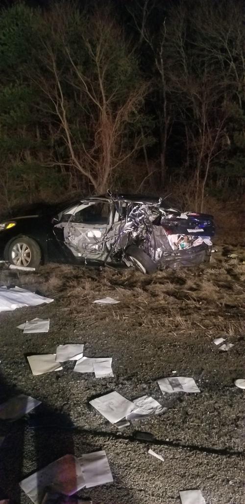 Drunken driving alleged in I-495 crash in Mansfield that
