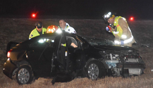 Driver in crash that killed former Foxboro man claims he experienced