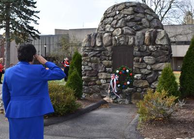 na veterans day ceremony 1