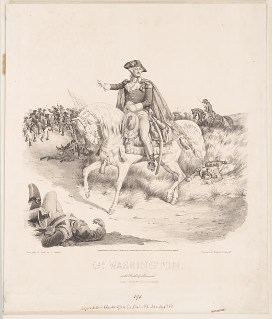Elijah Fisher story George Washington at Monmouth