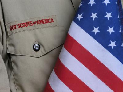 bsa uniform & us flag (copy)
