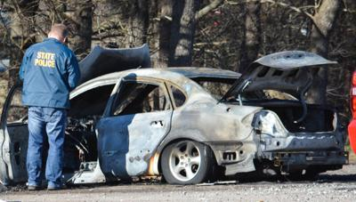 Mansfield fatal car fire